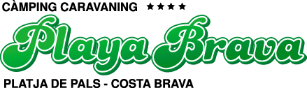 Playa Brava - Camping. Platja de Pals Costa Brava